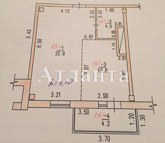 Продается 1-комнатная квартира в новострое на ул. Греческая — 32 000 у.е. (фото №3)