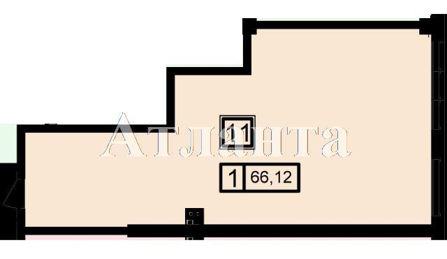 Продается 1-комнатная квартира в новострое на ул. Генуэзская — 63 180 у.е.