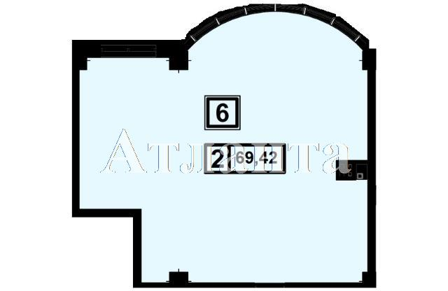 Продается 2-комнатная квартира в новострое на ул. Генуэзская — 66 580 у.е.