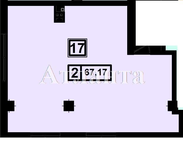 Продается 1-комнатная квартира в новострое на ул. Генуэзская — 63 220 у.е. (фото №3)