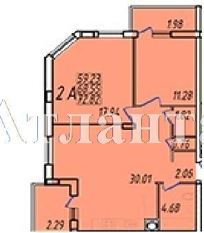 Продается 2-комнатная квартира в новострое на ул. Жм Дружный — 40 410 у.е.