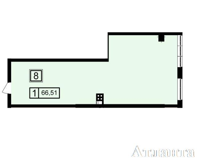 Продается 1-комнатная квартира в новострое на ул. Генуэзская — 63 180 у.е. (фото №2)