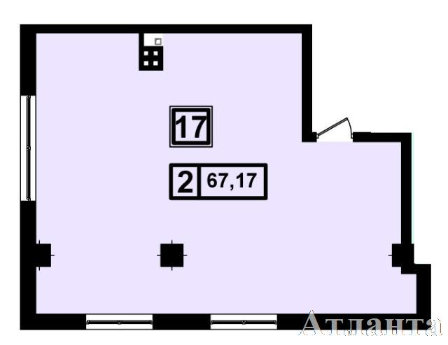 Продается 1-комнатная квартира в новострое на ул. Генуэзская — 64 110 у.е.