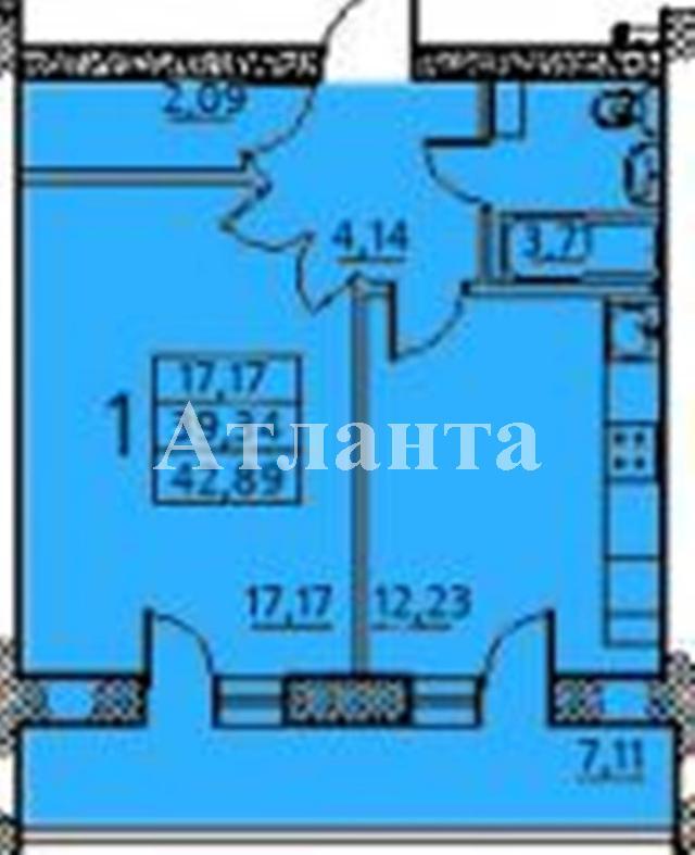 Продается 1-комнатная квартира в новострое на ул. Заболотного Ак. — 34 000 у.е. (фото №3)