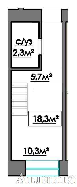 Продается Многоуровневая квартира на ул. 10 Апреля — 13 550 у.е.