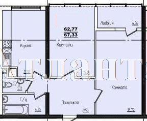Продается 2-комнатная квартира в новострое на ул. Жм Дружный — 43 680 у.е. (фото №3)