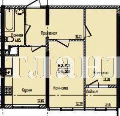 Продается 2-комнатная квартира в новострое на ул. Жм Дружный — 36 740 у.е. (фото №3)