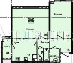 Продается 2-комнатная квартира в новострое на ул. Жм Дружный — 44 770 у.е. (фото №3)