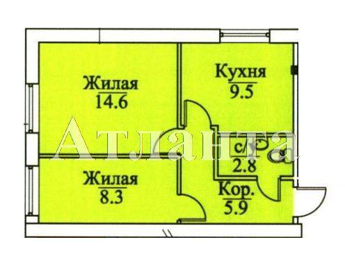 Продается 2-комнатная квартира в новострое на ул. Болгарская — 34 500 у.е.