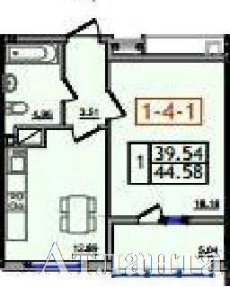 Продается 1-комнатная квартира в новострое на ул. Сахарова — 23 850 у.е. (фото №3)
