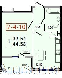 Продается 1-комнатная квартира в новострое на ул. Сахарова — 25 220 у.е. (фото №3)