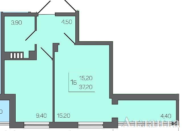 Продается 1-комнатная квартира на ул. Бочарова Ген. — 28 000 у.е.