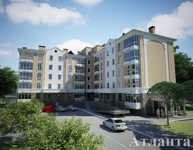 Продается 1-комнатная квартира в новострое на ул. Бочарова Ген. — 34 500 у.е. (фото №2)