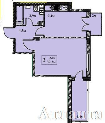 Продается 1-комнатная квартира в новострое на ул. Бочарова Ген. — 34 230 у.е. (фото №3)