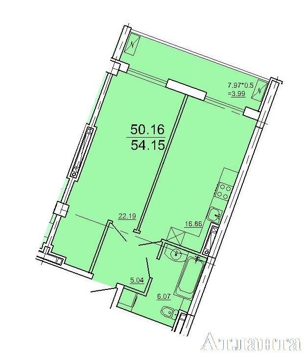 Продается 1-комнатная квартира в новострое на ул. Ванный Пер. — 83 800 у.е. (фото №2)