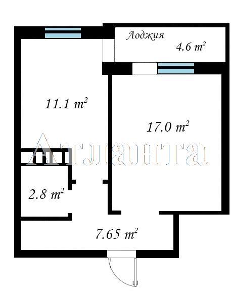 Продается 1-комнатная квартира в новострое на ул. Бочарова Ген. — 25 030 у.е.