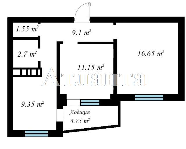 Продается 2-комнатная квартира в новострое на ул. Бочарова Ген. — 32 510 у.е. (фото №3)