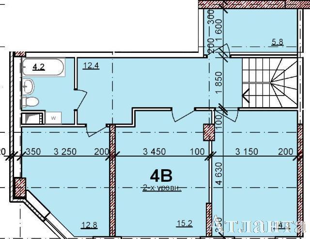 Продается 4-комнатная квартира в новострое на ул. Балковская — 74 060 у.е.