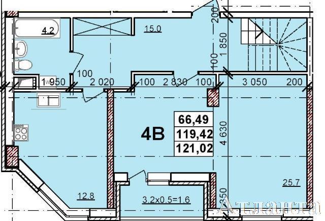 Продается 4-комнатная квартира в новострое на ул. Балковская — 74 060 у.е. (фото №2)