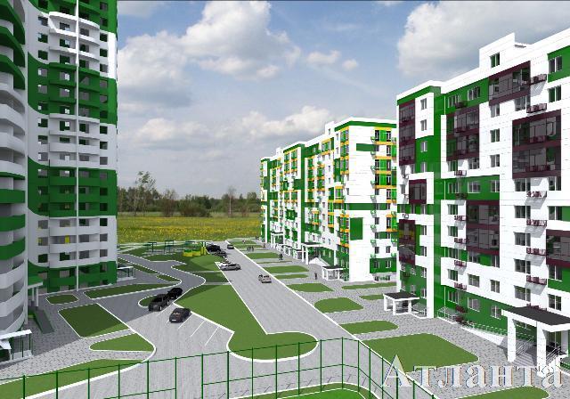 Продается 1-комнатная квартира в новострое на ул. Марсельская — 23 930 у.е.