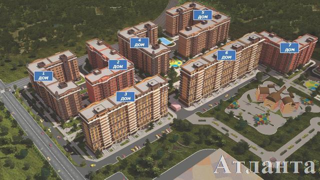 Продается 2-комнатная квартира в новострое на ул. 1 Мая — 39 600 у.е.