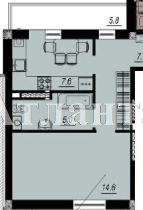 Продается 1-комнатная квартира в новострое на ул. Люстдорфская Дорога — 28 960 у.е. (фото №2)