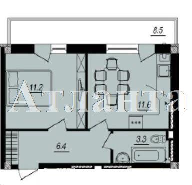 Продается 1-комнатная квартира в новострое на ул. Люстдорфская Дорога — 28 400 у.е. (фото №3)