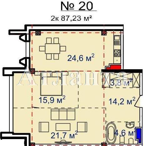 Продается 2-комнатная квартира в новострое на ул. Большая Арнаутская — 85 960 у.е. (фото №5)