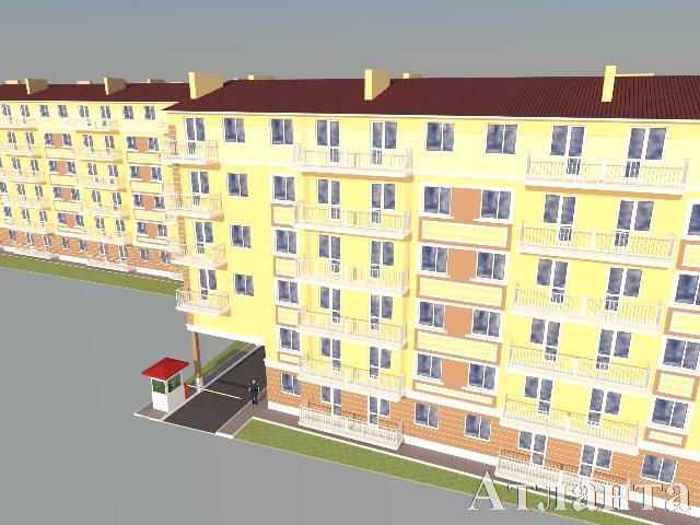 Продается 1-комнатная квартира в новострое на ул. Люстдорфская Дорога — 25 090 у.е. (фото №3)