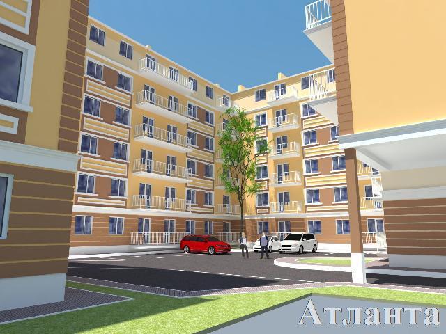 Продается 1-комнатная квартира в новострое на ул. Люстдорфская Дорога — 25 180 у.е. (фото №2)