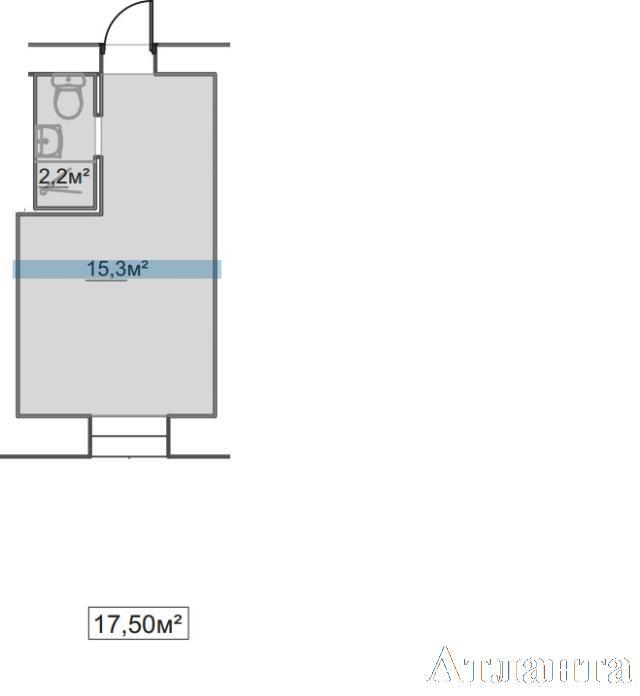 Продается 1-комнатная квартира в новострое на ул. Пересыпская 7-Я — 11 980 у.е.