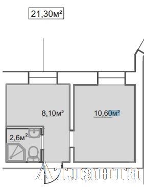 Продается 1-комнатная квартира в новострое на ул. Пересыпская 7-Я — 14 110 у.е. (фото №2)