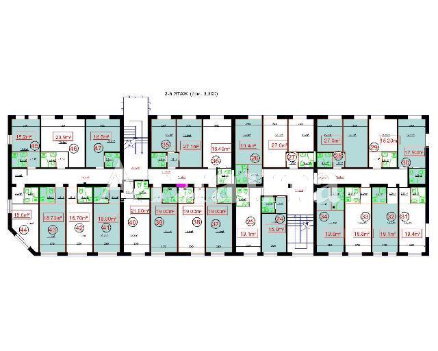 Продается 1-комнатная квартира в новострое на ул. Центральная — 20 500 у.е. (фото №3)