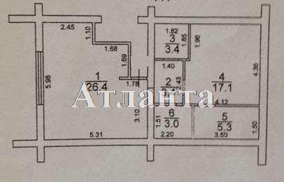 Продается 1-комнатная квартира на ул. Дача Ковалевского — 39 000 у.е.
