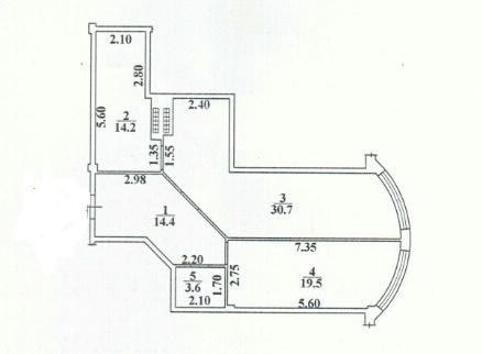 Продается 1-комнатная квартира на ул. Макаренко — 57 000 у.е.