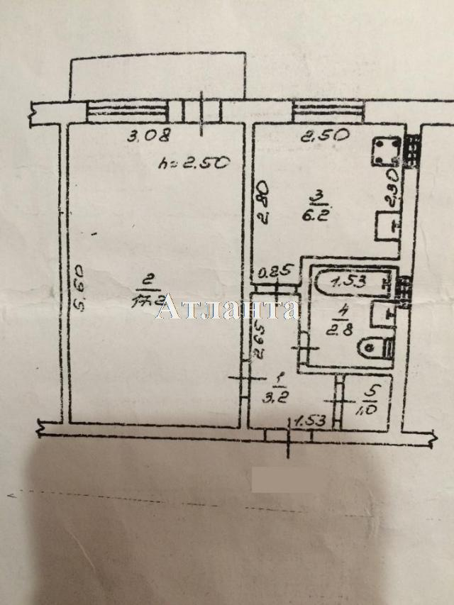 Продается 1-комнатная квартира на ул. Маршала Жукова — 35 000 у.е. (фото №2)