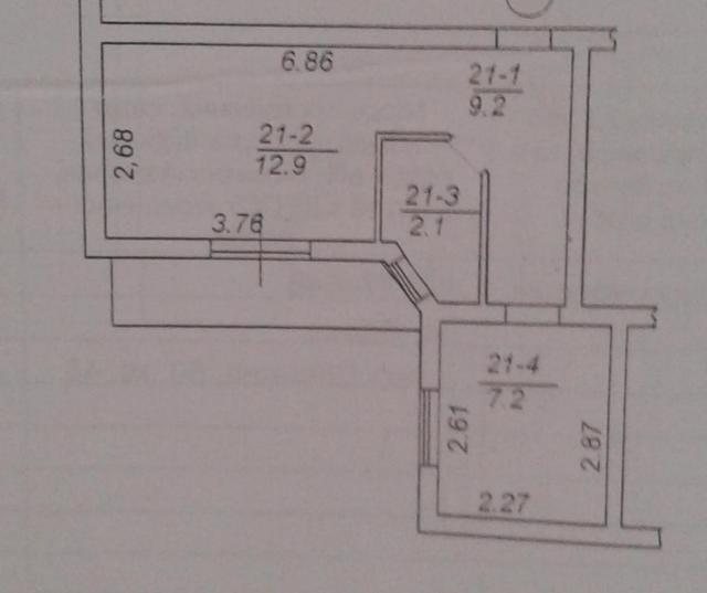 Продается 1-комнатная квартира на ул. Дача Ковалевского — 21 000 у.е. (фото №2)