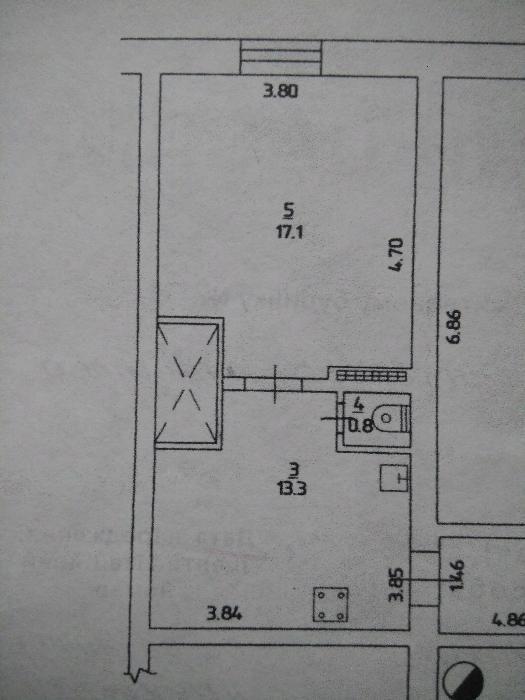 Продается 1-комнатная квартира на ул. Черноморского Казачества — 25 500 у.е. (фото №6)
