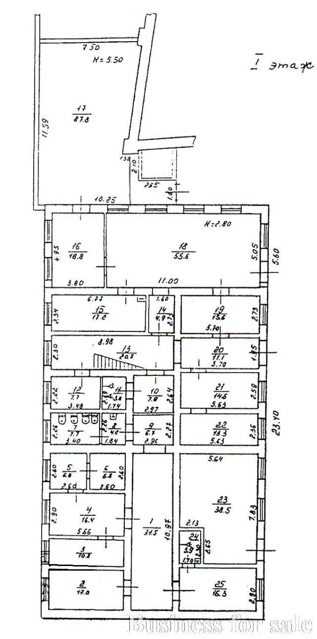 Продается Здание общего назначения на ул. Гефта Николая — 300 000 у.е. (фото №7)