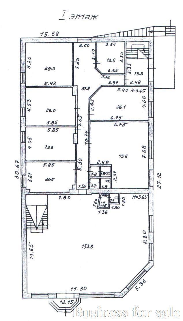 Продается Здание общего назначения на ул. Донского Дмитрия — 1 000 000 у.е. (фото №19)