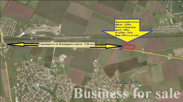 Продается Земельные угодия на ул. Массив № 20 — 1 147 500 у.е.