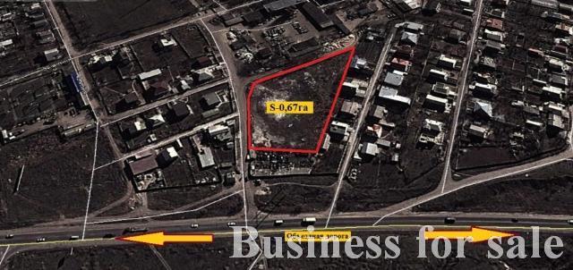 Продается Земельные угодия на ул. Окружная — 134 000 у.е.