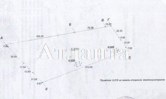 Продается Земельные угодия на ул. Массив № 7 — 356 000 у.е.