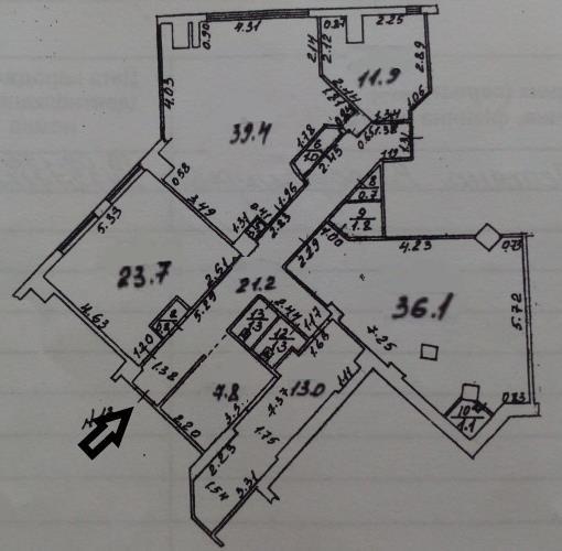 Сдается Офис на ул. Маршала Говорова — 1 800 у.е./мес. (фото №9)