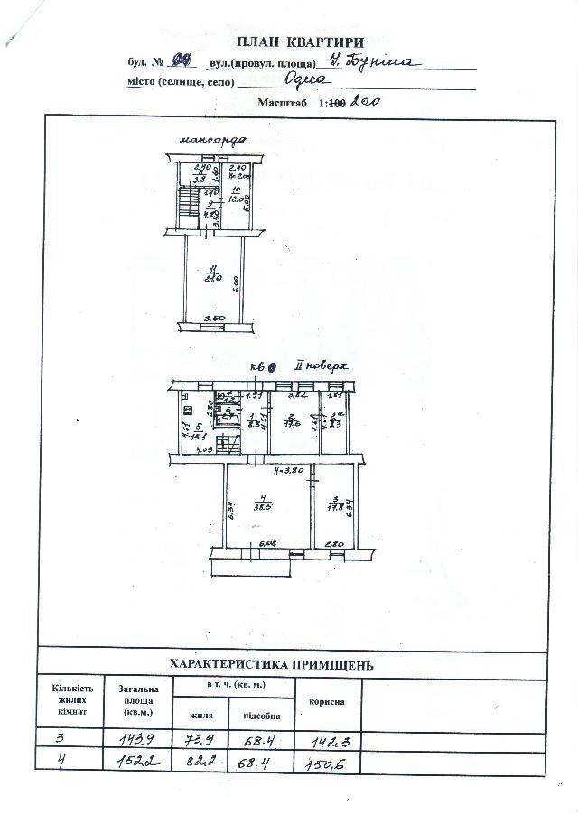 Продается 6-комнатная квартира на ул. Бунина (Розы Люксембург) — 115 000 у.е. (фото №10)