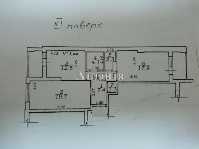 Продается 2-комнатная квартира на ул. Королева Ак. — 59 000 у.е. (фото №2)