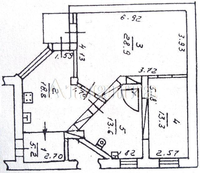Продается 2-комнатная квартира на ул. Жукова Вице- Адм. Пер. — 90 000 у.е. (фото №13)
