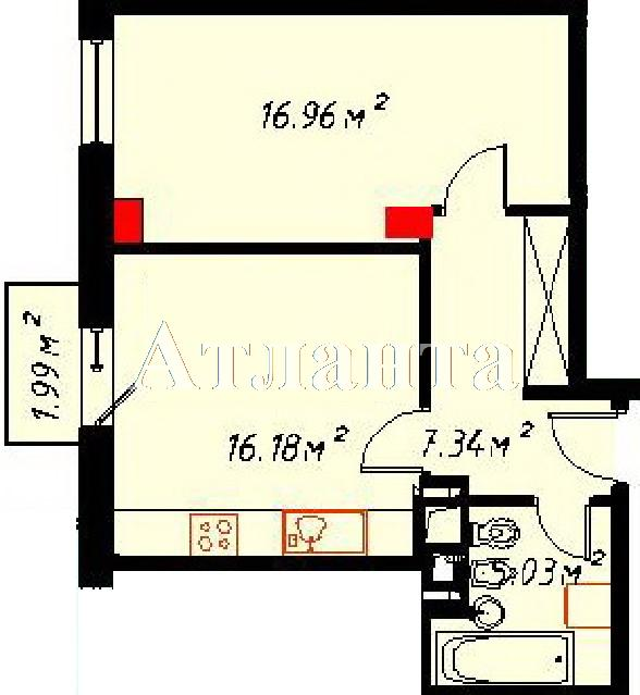 Продается 1-комнатная квартира на ул. Отрадная — 100 000 у.е. (фото №2)