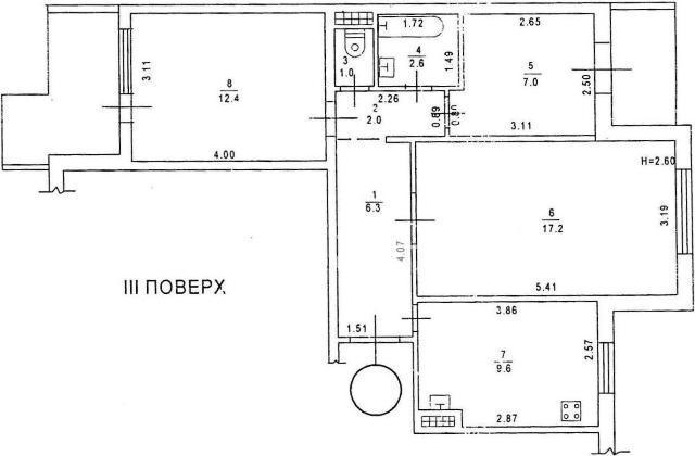Продается 3-комнатная Квартира на ул. Филатова Ак. — 55 000 у.е. (фото №8)