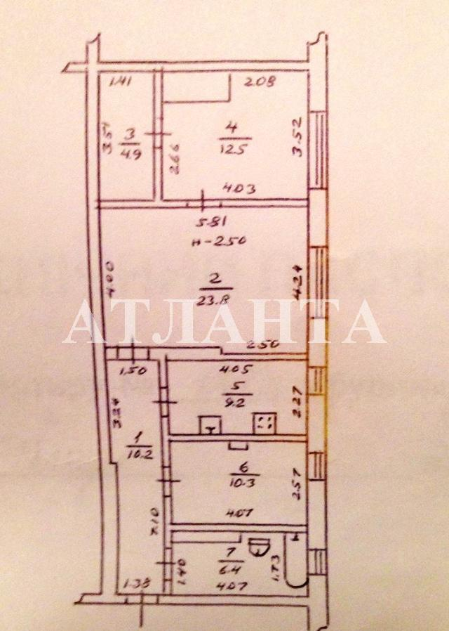 Продается 3-комнатная квартира на ул. Жолио-Кюри — 33 000 у.е. (фото №10)
